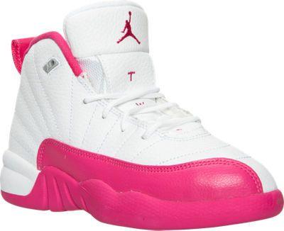 35c2f8fc1d04 ... usa girls preschool air jordan retro 12 basketball shoes finish line  58d73 aacaf