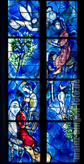 Kirche St Stephan In Mainz Fenster Von Chagall Marc Chagall Chagall Paintings Moonlight Painting