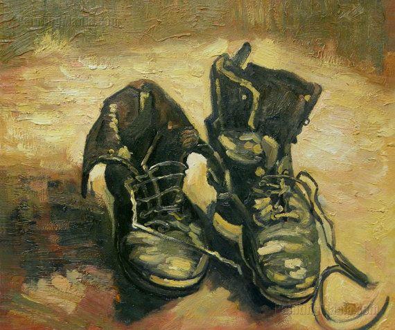 A Pair of Shoes Vincent van Gogh hand