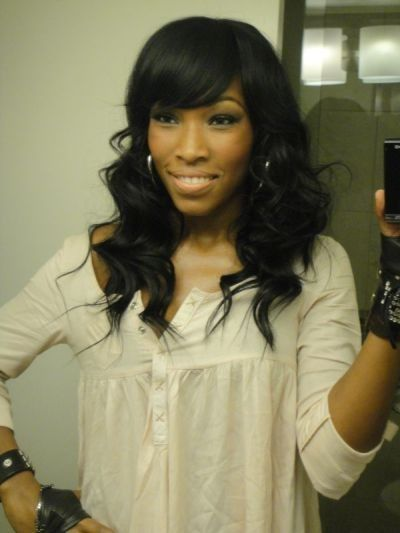 Sew In Weave With Bangs Full Head