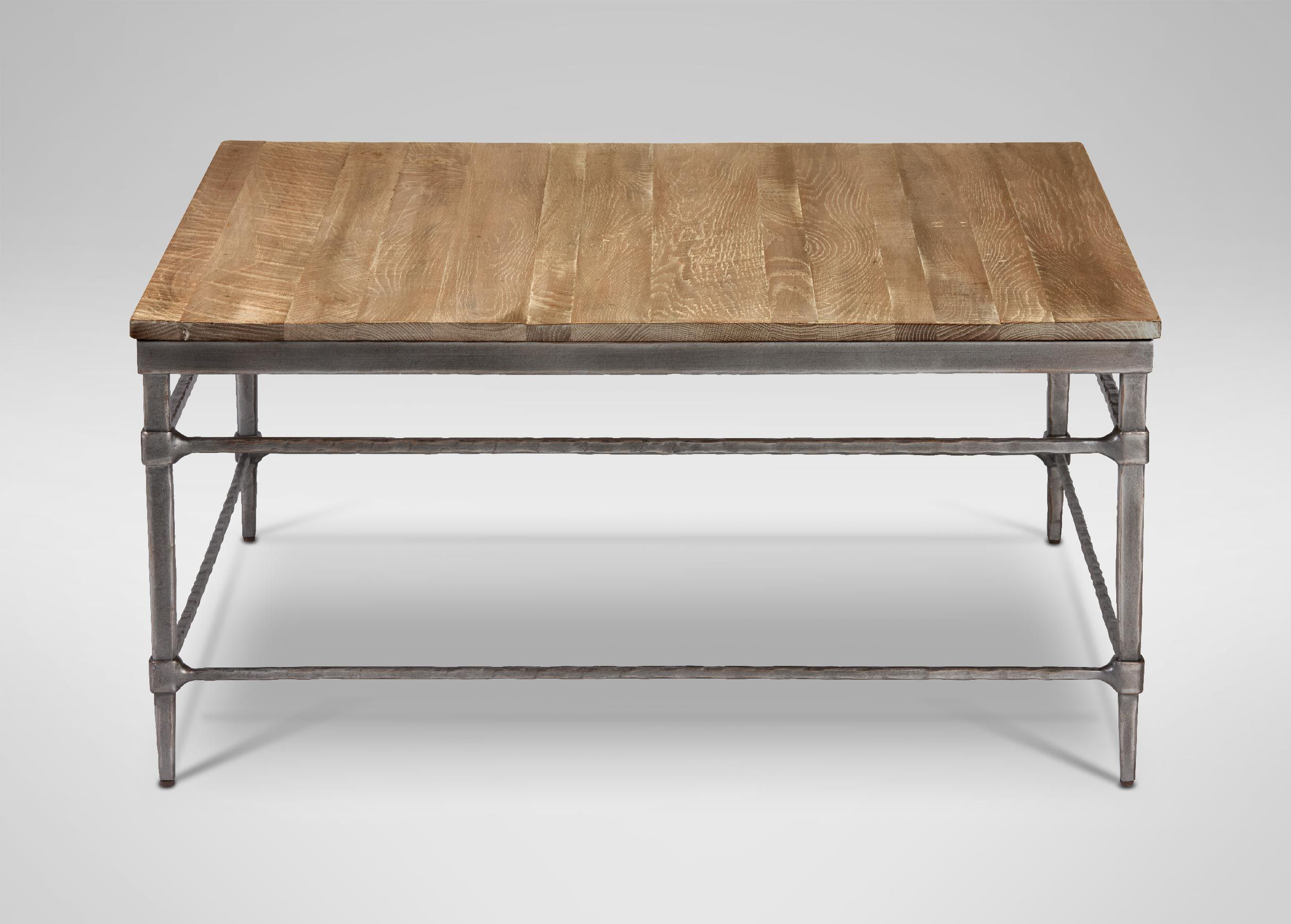Vida Square Wood Top Coffee Table Coffee Tables Ethan Allen