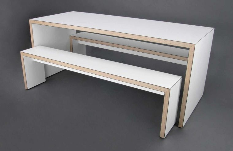 Waldo/45 | Contemporary Tables U0026 Benches | James Burleigh