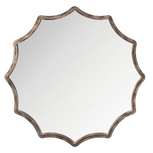 Magnussen Home Davenport Shaped Mirror