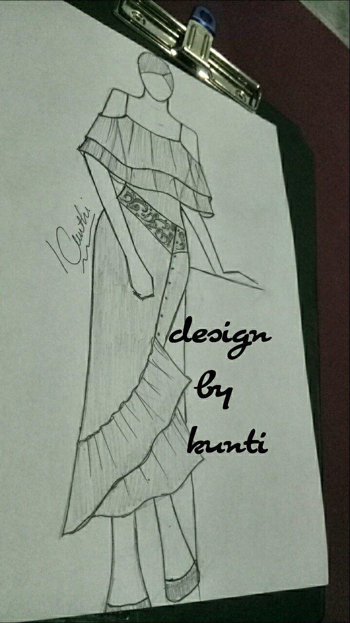 Cara Menggambar Baju Anime