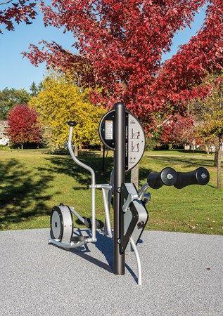 NEW! HealthBeat® Elliptical - Outdoor Cross Trainer Exercise Equipment