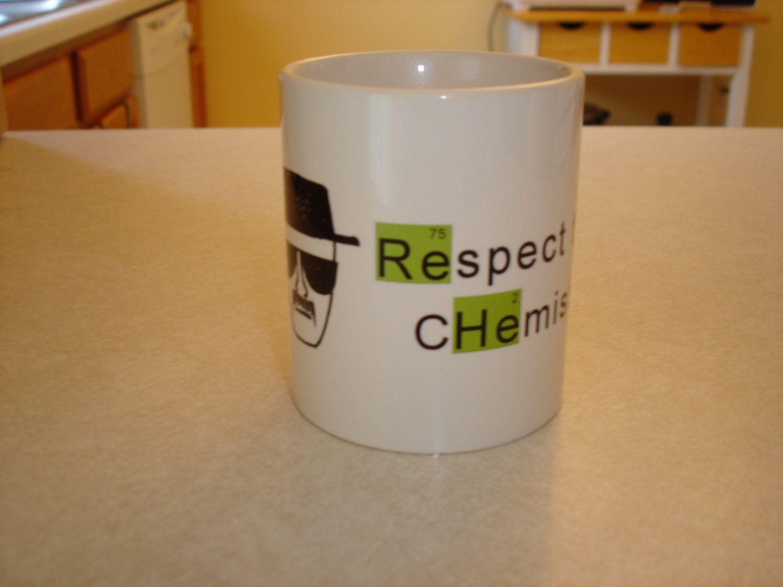 Breaking Bad 11oz Coffee Mug Respect The Chemistry