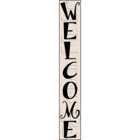3125 * Tall Welcome Stencil http://stencilmein.com/3125-tall-welcome-porch-stencil.html
