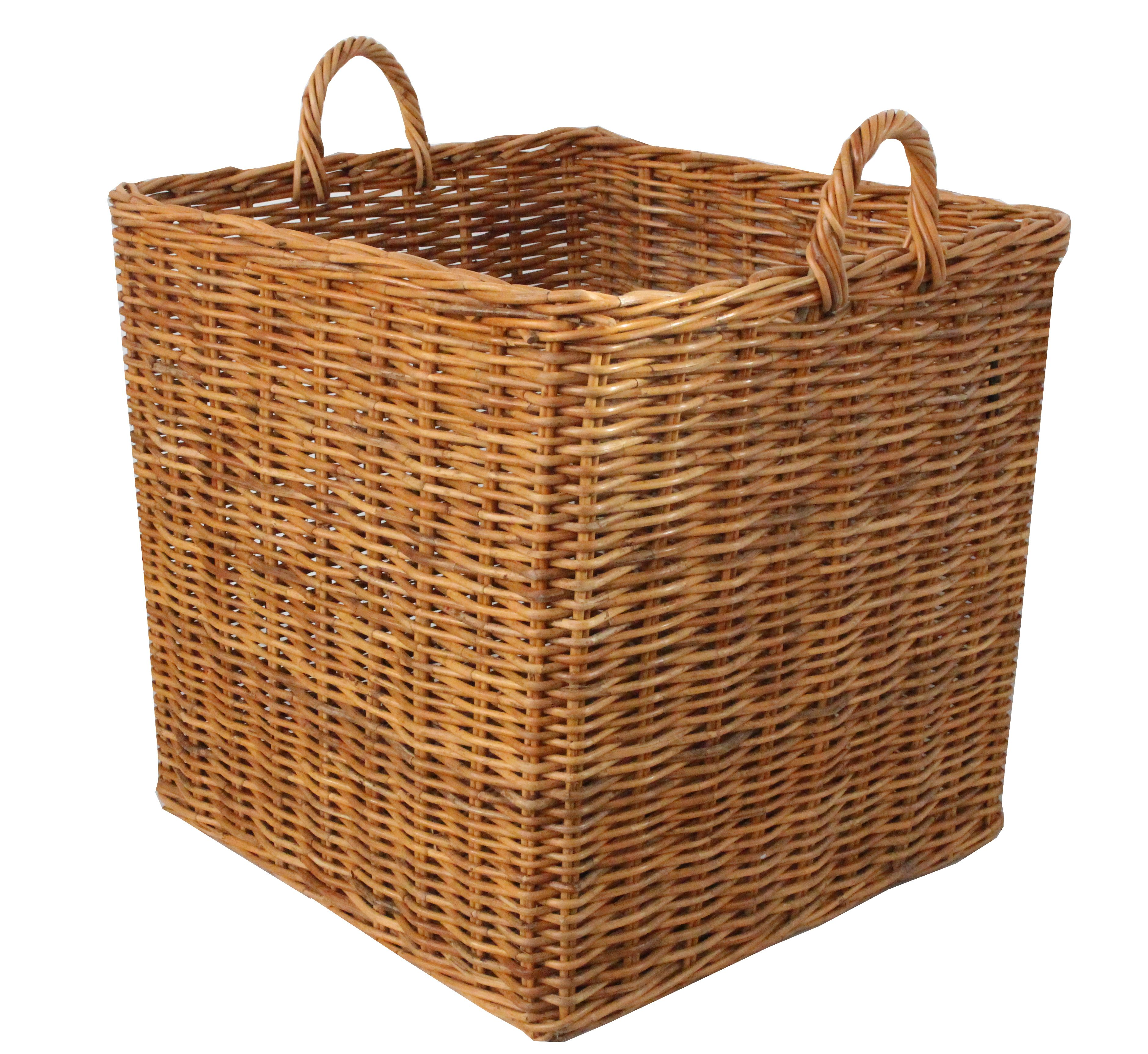 neptune somerton storage basket small storage baskets.htm honey rattan square wicker log basket log baskets  wicker  honey rattan square wicker log basket