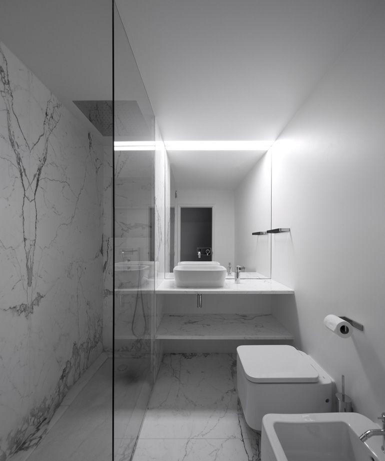Joao Tiago Aguiar Arquitectos Lumiar Ii Apartament Bathroom Layout Modern Bathroom Bathroom Interior Design