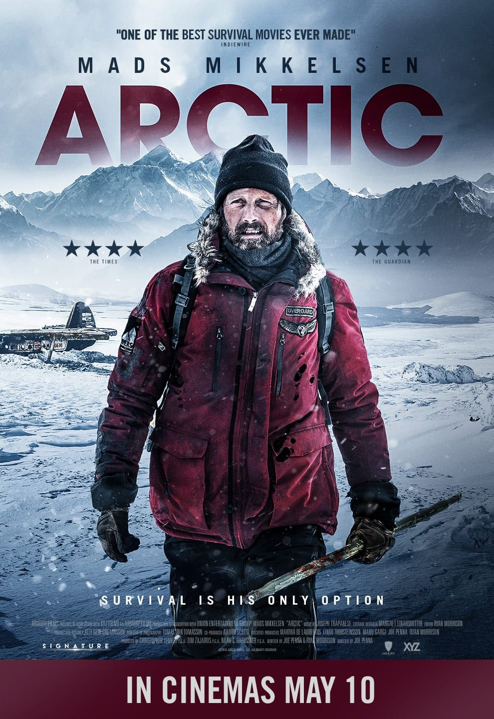 Arctic new poster from the UK https//teasertrailer
