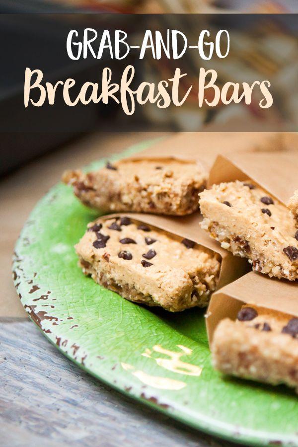 Grab-and-Go Breakfast Bars   Breakfast, Grab, Go Breakfast, Breakfast Bars