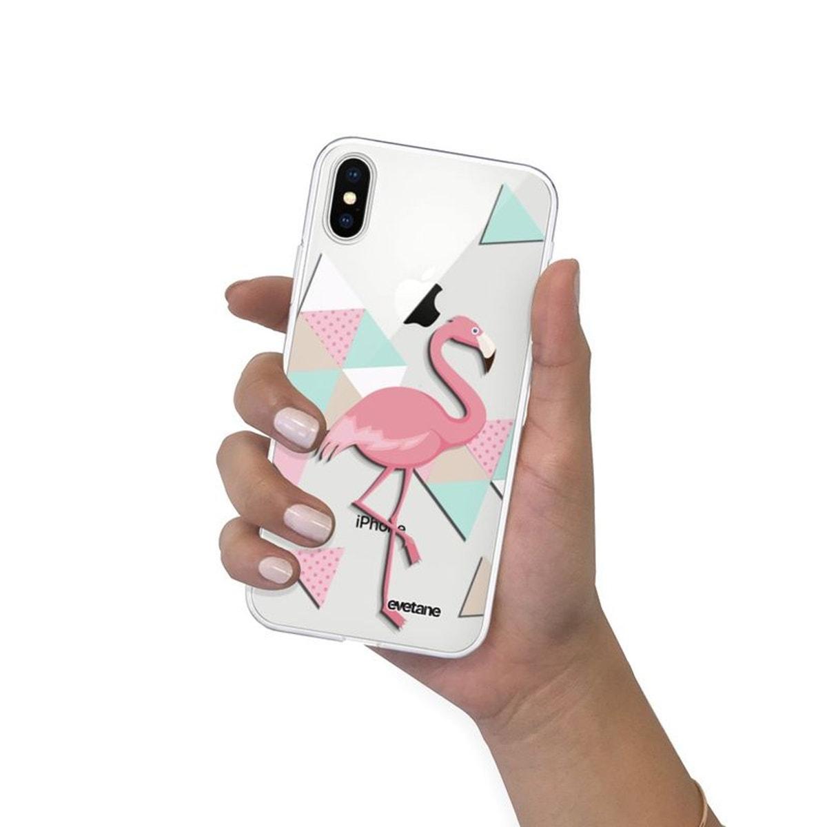 iphone xs max coque flamant