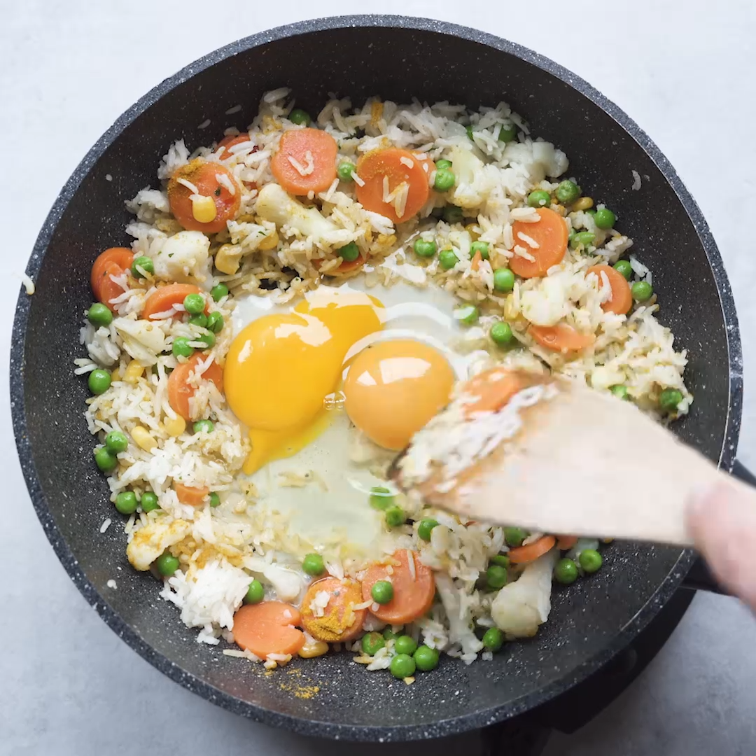 Gebratenen Reis selber machen
