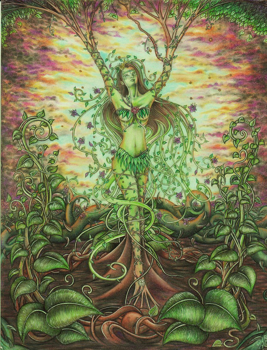 Tree Woman by Catalina-Estefan.deviantart.com on ...