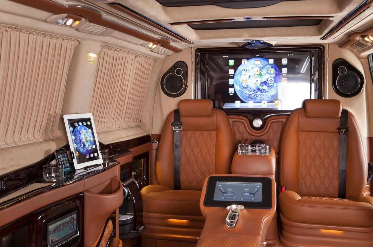 Luxurious Car Interior