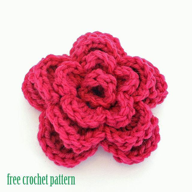 Spring Flower, free pattern by Sarah Miller | Crochet | Pinterest ...