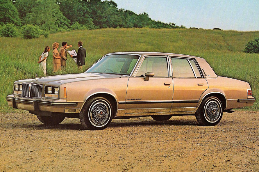 1984 Pontiac Bonneville Brougham