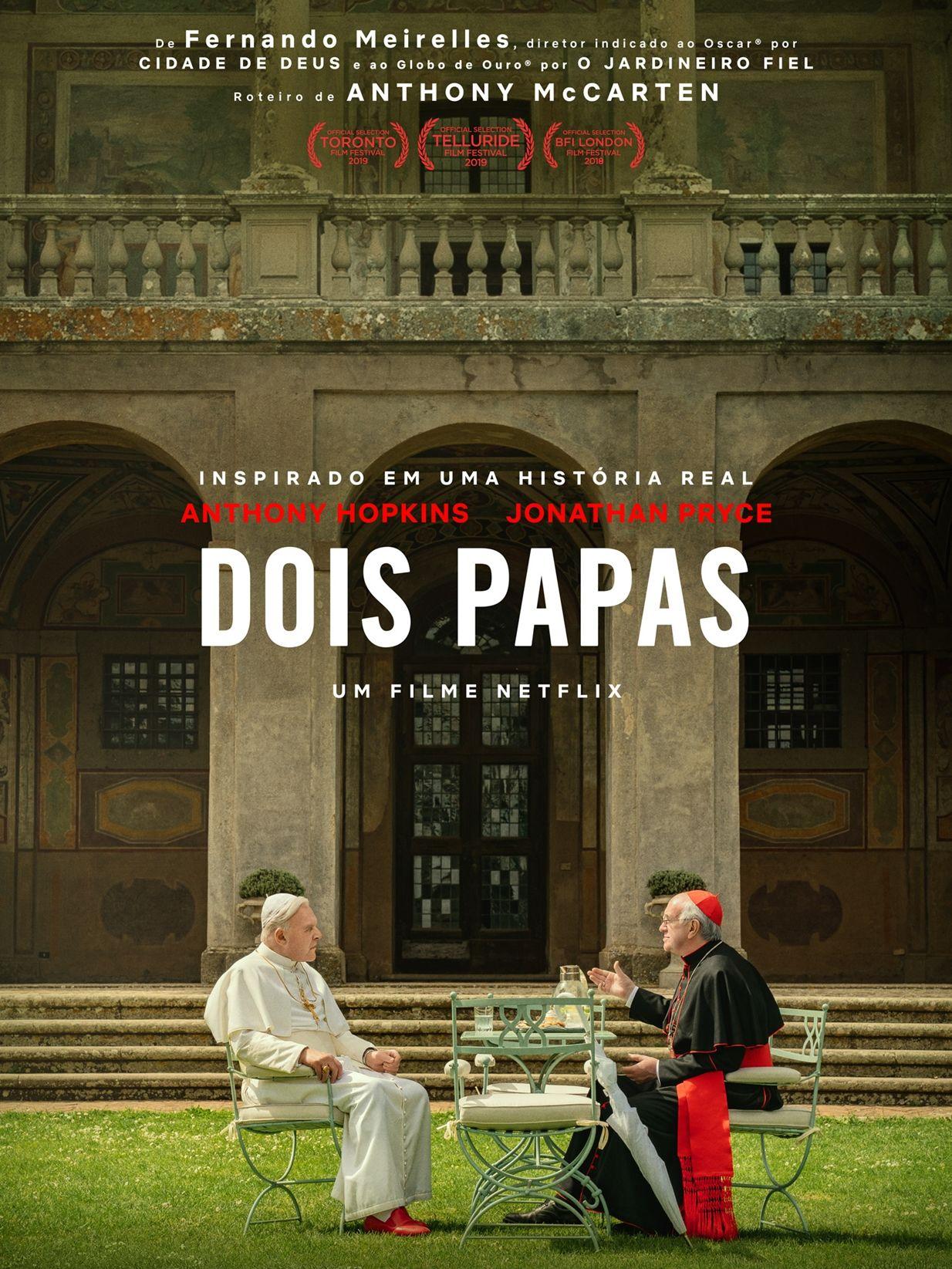 Anthony Hopkins Que Vive Bento 16 Em Filme Diz Que Papas Sao