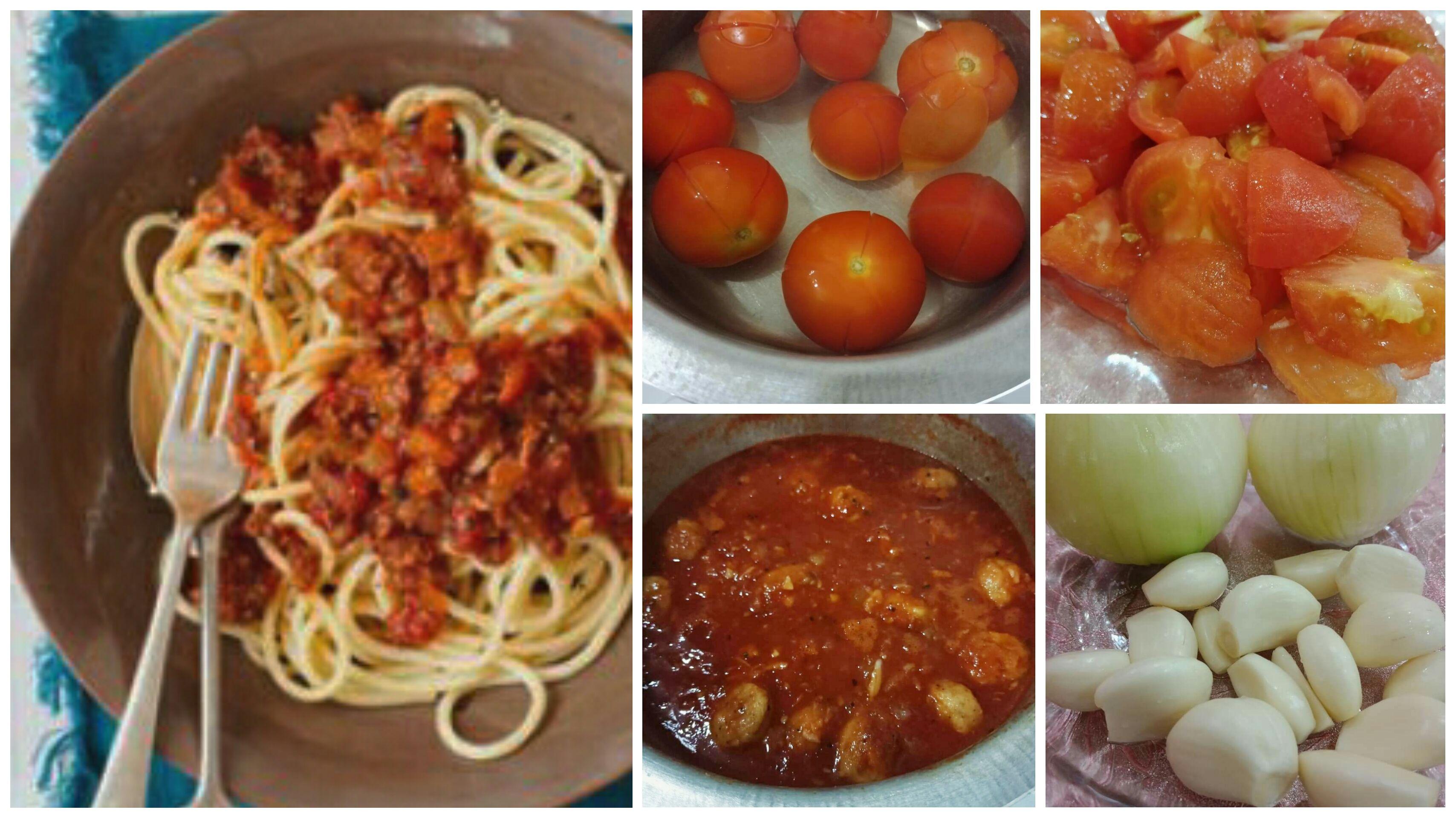 Cara Buat Kuah Spaghetti Bolognese Yang Lebih Sihat Guna Bahan Fresh Lagi Sedap Di 2020 Resep Masakan Spaghetti Makanan