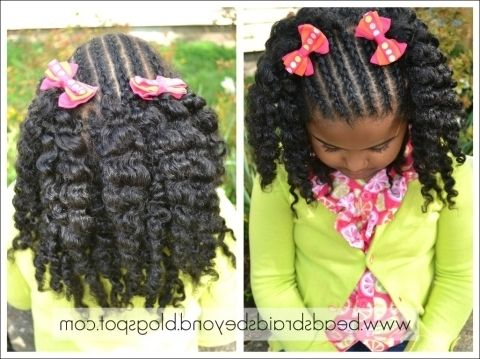 Cute Hairstyles For Young Black Girls Images