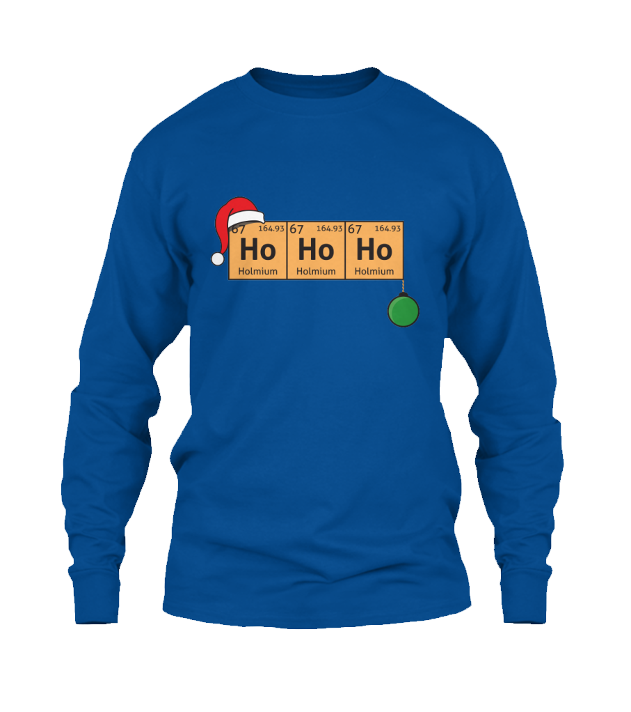 Scientific christmas periodic table ho ho ho t shirt http scientific christmas periodic table ho ho ho t shirt http gamestrikefo Gallery