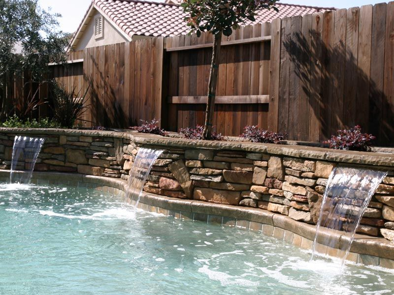 Cost to have pool installed raised bond beams yard - Fibreglass swimming pool bond beam ...