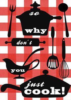cute kitchen posters - Google Search | Cookbook Dreams | Pinterest ...