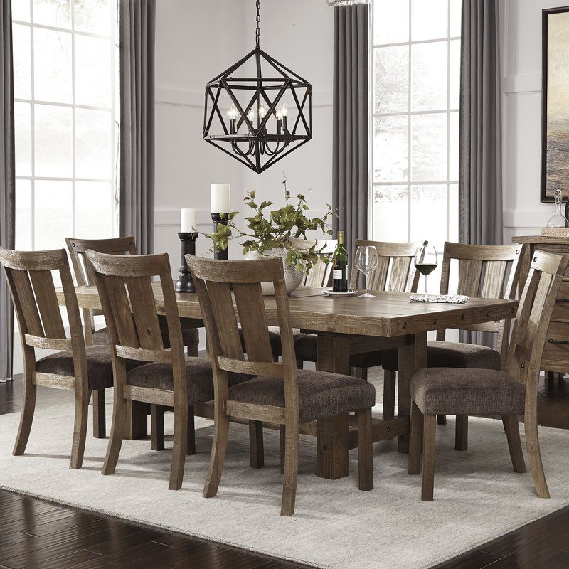 Etolin 9 Piece Dining Set  Dining Dinning Room Furniture Ideas Captivating 9 Piece Dining Room Design Decoration