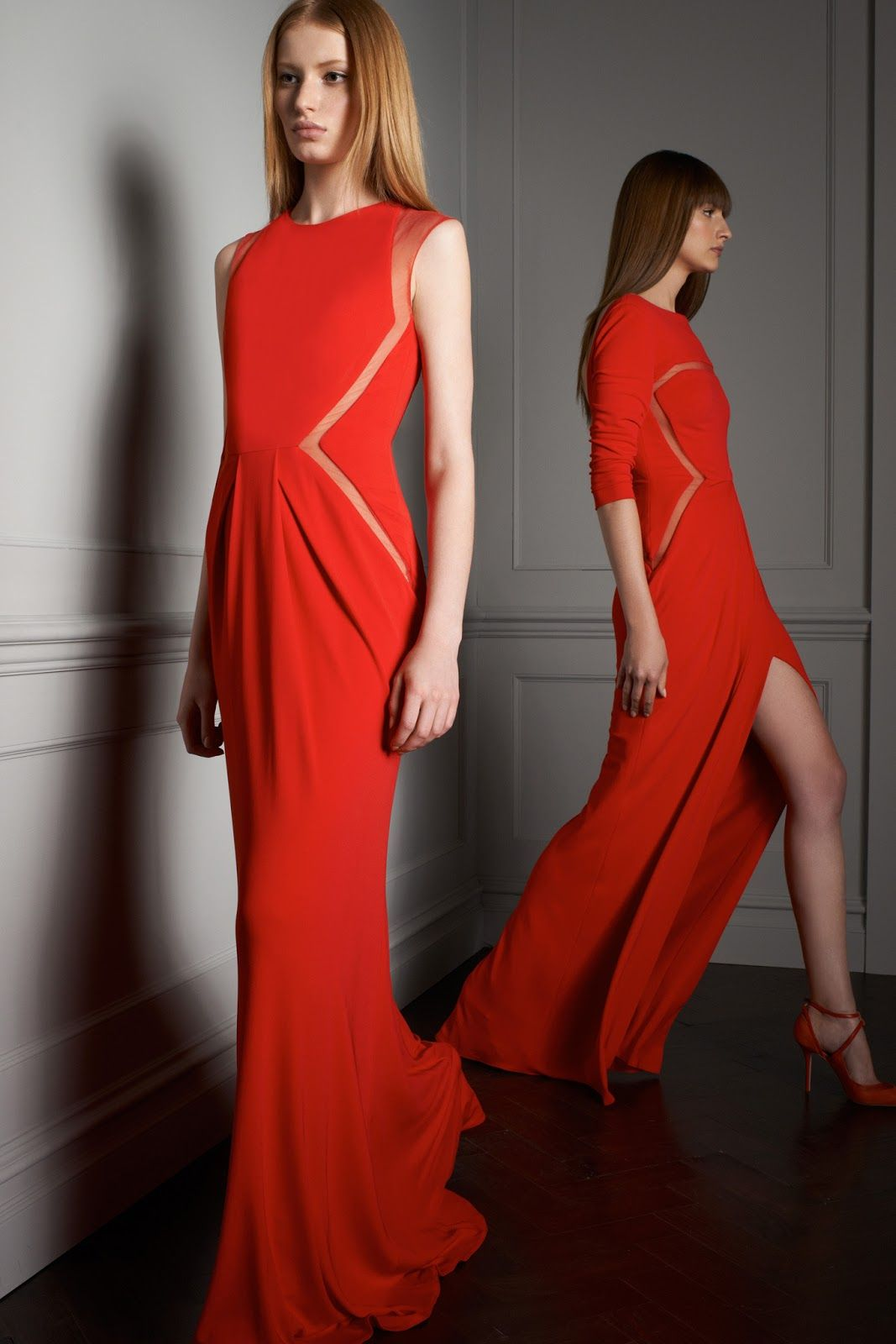 stephanie hall and maria kashleva by elie saab resort 2014 | visual optimism; fashion editorials, shows, campaigns & more!