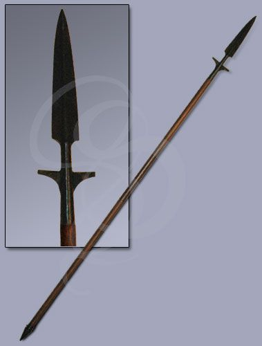 Carolingian-Style 10th Century Viking Spear | Weapon, Shield, Armor