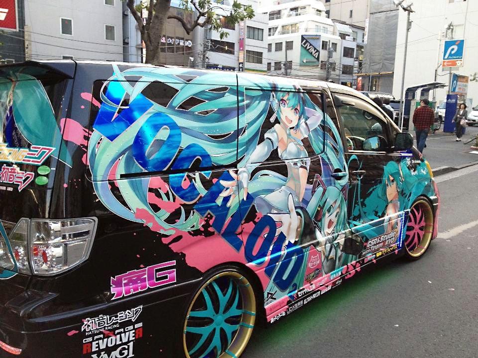 Αποτέλεσμα εικόνας για akihabara anime cars