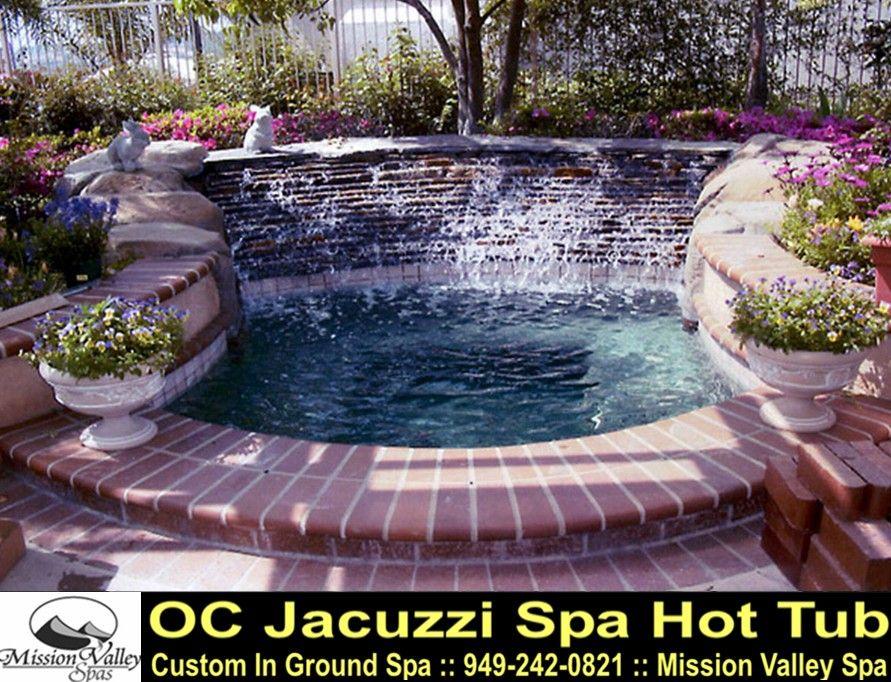 Backyard Design For Inground Hot Tub Spa Oc Jacuzzi Spa