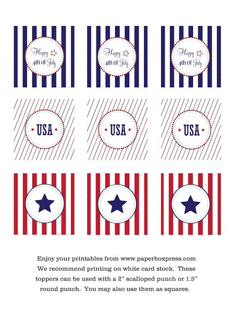 4th of July Party Idea Roundup - Party on a Budget Ideas | Kara's Party Ideas