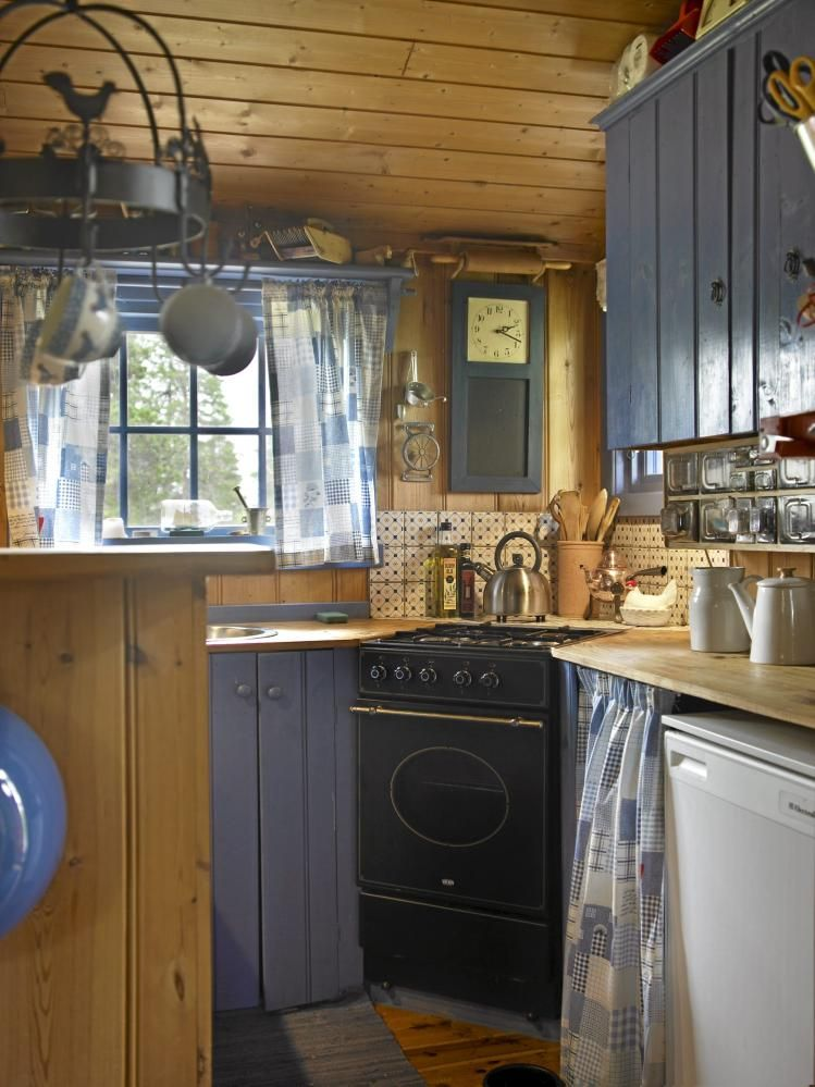 Small, Tidy And Simple Kitchen. You Can Find Your Rustic Pot Rack At CCL