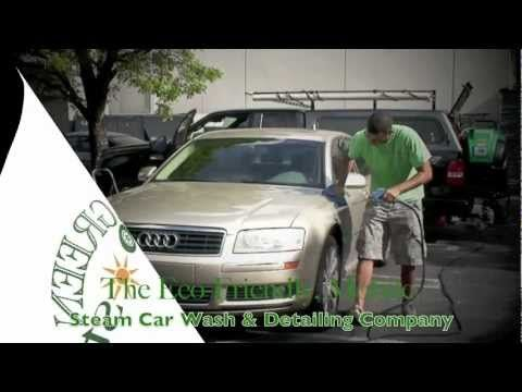 green eco steam car wash and detailing optima steamer