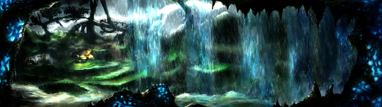 Tallon Overworld Painting Metroid Metroid, Art, Video