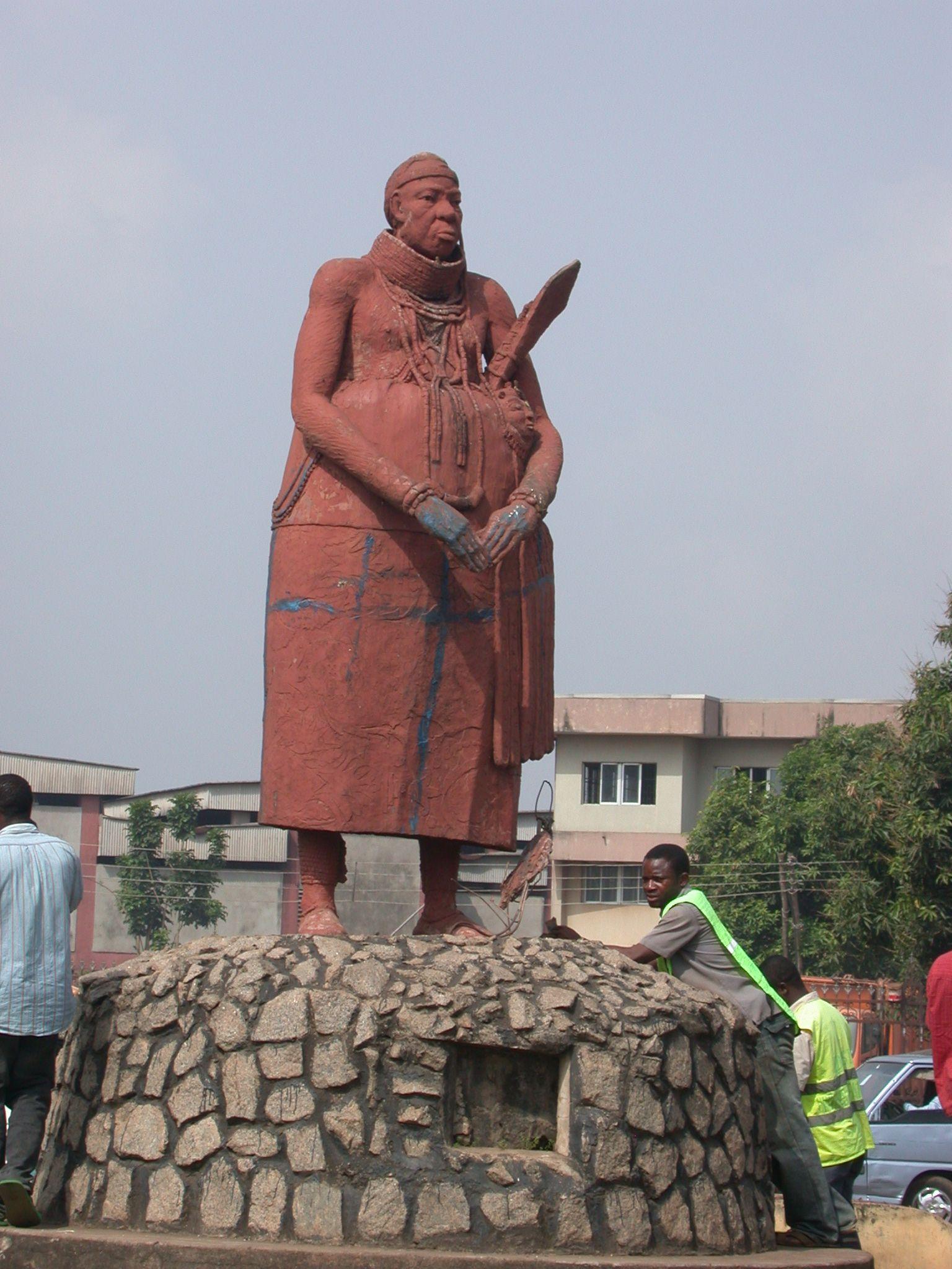 Statue In Benin City Nigeria West Africa Pinterest