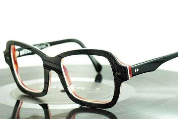 Vinyl Record Eyewear Vinyl Records Vinyl Eyewear