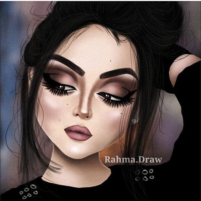 تحطون ميك اب لو لا Fashionyista صور كارتونية للحلوات منشن لصديقاتك تشوفهن معك خلفيات وصور جميلة في الس Halloween Face Makeup Face Face Makeup