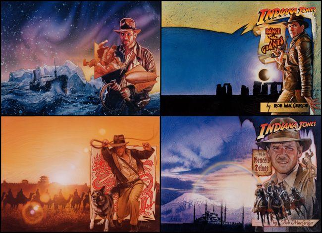Www Drewstruzan Com Indiana Jones Henry Jones Jr George Lucas Films