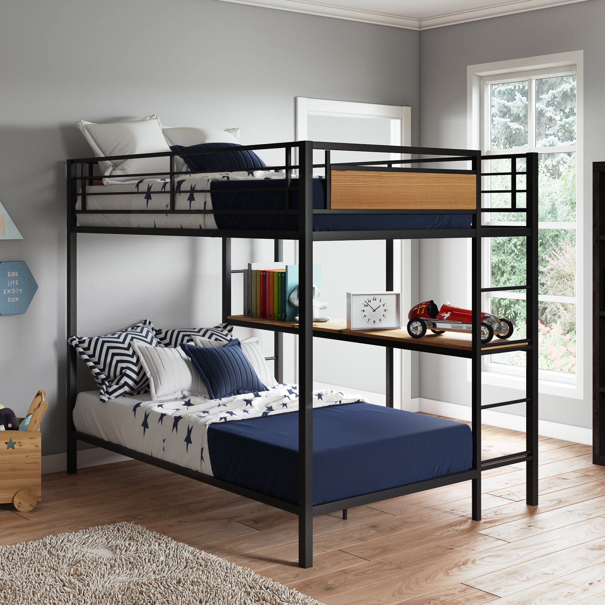 Better Homes & Gardens Austen Full Over Twin Bunk Bed with