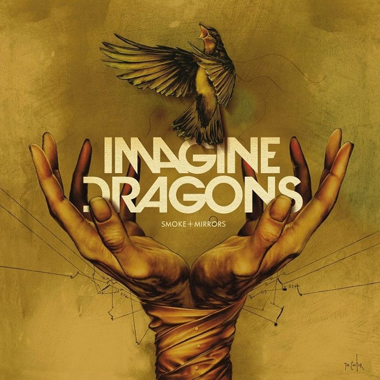 Imagine Dragons - Smoke + Mirrors on Limited Edition Colored 2LP