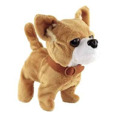 Cute Cuddly Walking Barking And Tail Wagging Animated Plush
