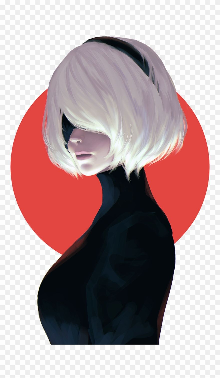 Download Hd Nier Automata 2b Art Png Download Clipart And Use The Free Clipart For Your Creative Project Clip Art Nier Automata Book Art