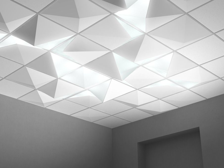 Lighted ceiling tiles how cool would these be above our cubes in dropped ceiling angular lighting by pool aloadofball Images