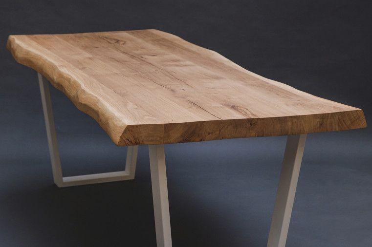 Table Odessa Artisanale Et Sur Mesure Au Design Contemporain Elle Est Fabriquee En Bois De Chene Massif P Table Chene Massif Table Bois Massif Table En Chene