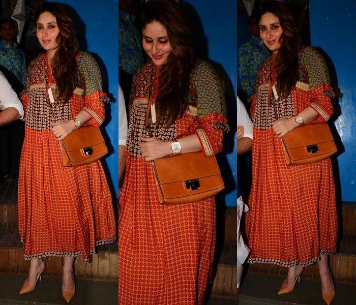 Kareena Kapoor After Pregnancy Pictures, Kareena Kapoor After Delivery Pictures.