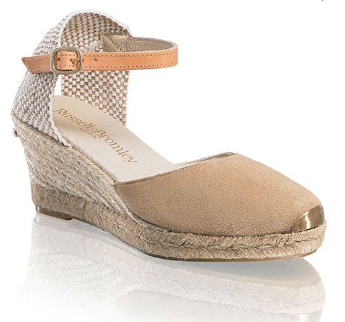 12507ca08c5 Russell & Bromley 'Coco-Nut' Ankle Strap Espadrilles | ♛