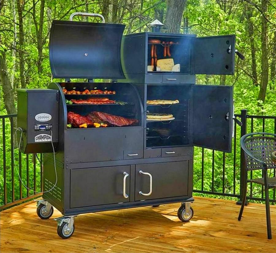 This Ultimate Grill Features 23 8 Square Feet Of Cooking Area Wood Pellet Grills Barbecue Grill Louisiana Grills