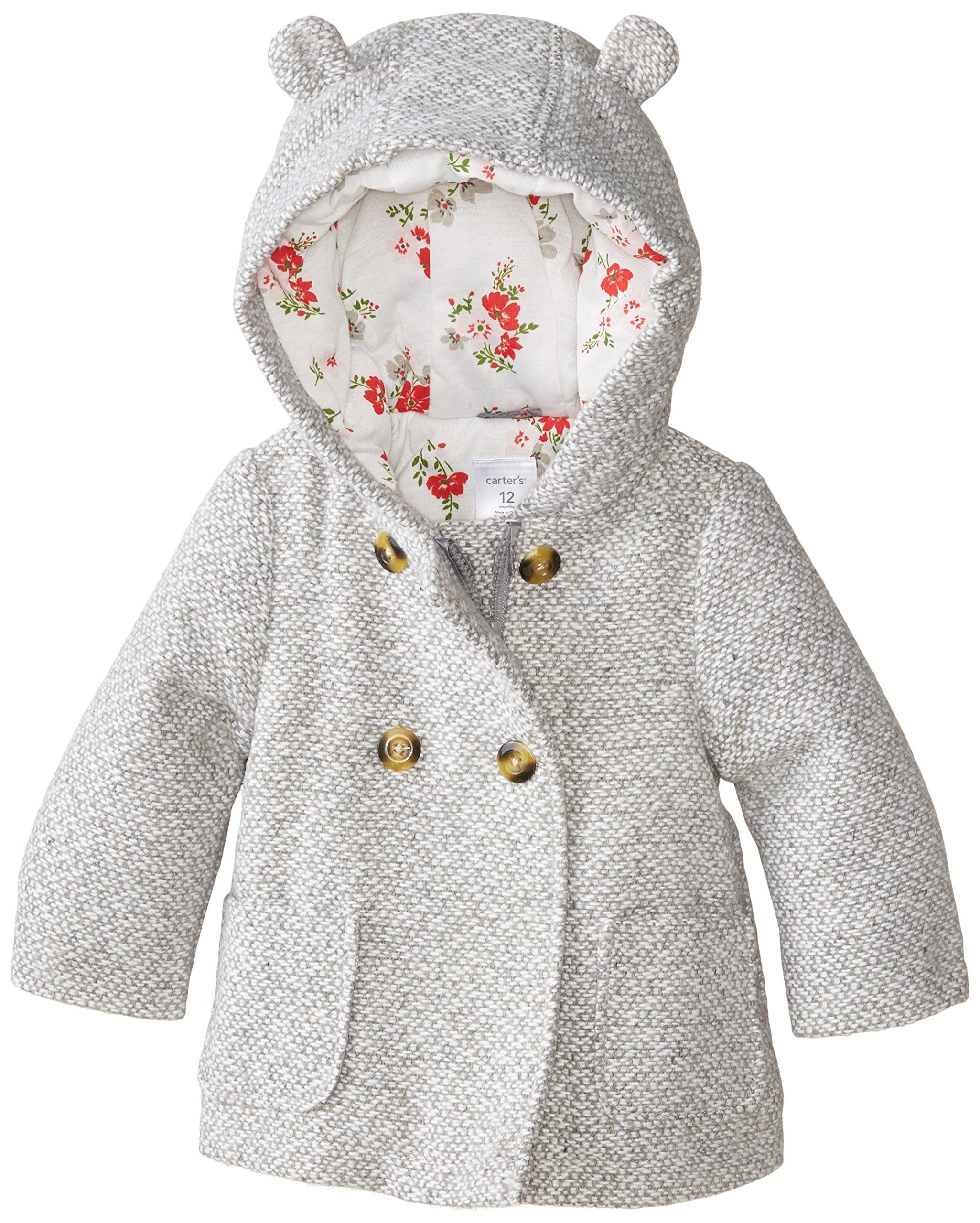 Amazon.com: Carter's Baby Girls' Infants Trans Single Jacket ...